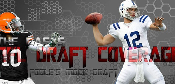 Fogle&#8217;s NFL Mock Draft 2012 Version 1.0