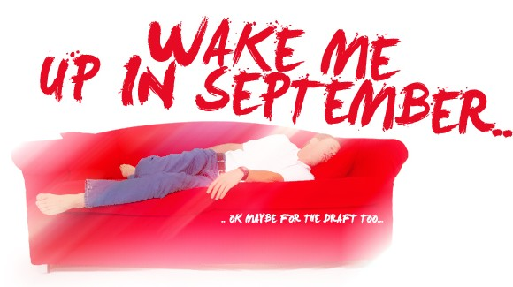 Wake me up in September..