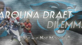 With the Ninth Pick in the NFL Draft the Carolina Panthers Select..