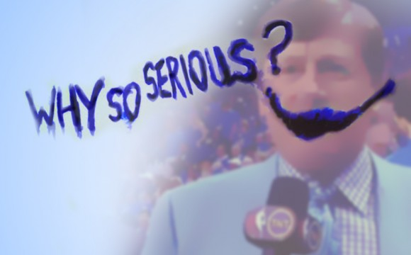 Why So Serious.. Sager???